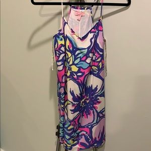 Lilly Pulitzer Silk Floral Tank Dress